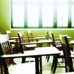 empty classroom